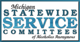Michigan Statewide Service Committees graphic